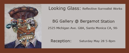 Looking Glass: Reflective Surrealist Works